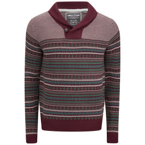 Soul Star Men's Stifler Jumper - Dark Red