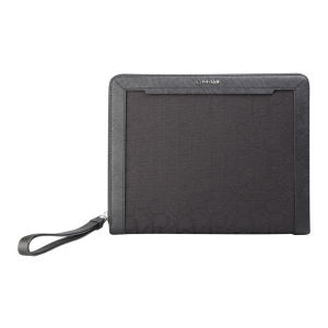 Calvin Klein Women's Jen 1 Zip Around iPad Case - Black