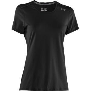 Under Armour Women's Sonic T-Shirt - Black/Graphite