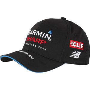 Garmin Sharp Team Replica Podium Cap - Black