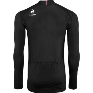 Le Coq Sportif Men's Cycling Performance Long Sleeve New Erco Jersey - Black