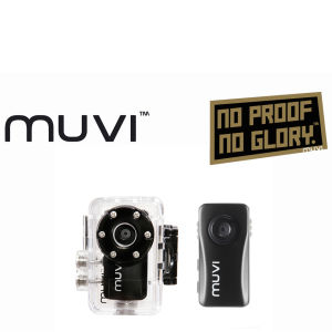 Veho Micro Muvi Atom Handsfree Camcorder with 4GB Memory and Waterproof Case