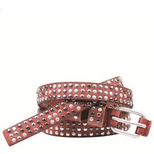 Markberg Mikela Leather Belt - Brown