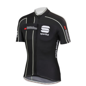 Sportful Gruppetto Pro Team Short Sleeve Jersey - Black/White