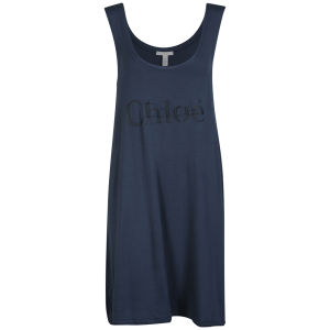 Chloe Women's Vest Dress - Blue