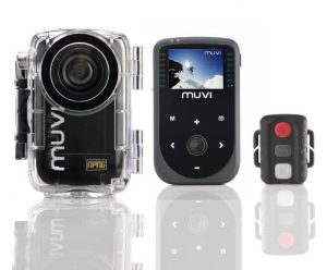 Veho No Proof No Glory Edition Muvi HD 1080p Mini In Car/Action Camcorder, Wireless Remote and 8GB Memory