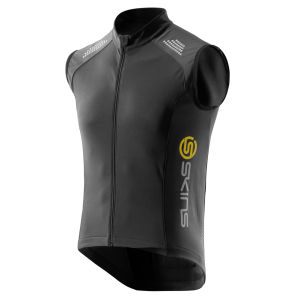 Skins C400 Men's Thermal Vest - Black/Graphite