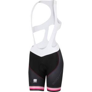 Sportful Bodyfit Pro Bib Shorts - Black/Pink