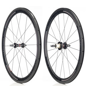 Deda Carbon 45mm Wheelset - Black on Black