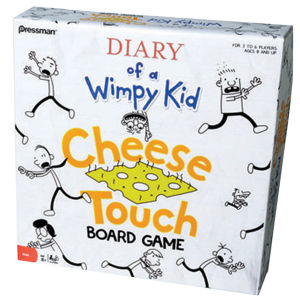 Diary of a Wimpy Kid Cheese Touch Board Games