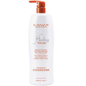 L'anza Healing Volume Thickening Conditioner (1000ml) - (värt 101,00)
