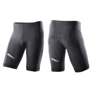 2XU Men's G:2 Long Distance Triathlon Shorts - Black