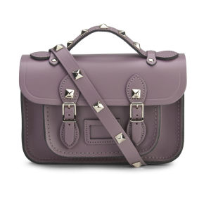 The Cambridge Satchel Company Women's Mini Satchel with Pyramid Studs - Dark Blush