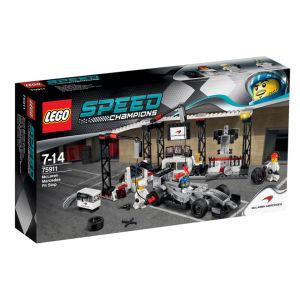 LEGO Speed Champions: McLaren Mercedes Boxenstopp (75911)