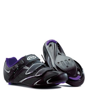 Northwave Women's Starlight SRS Cycling Shoes - Black/Violet