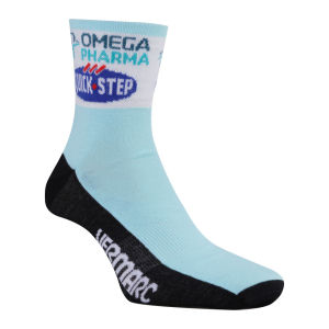 Omega Pharma Quick Step Team Race Socks - 2013