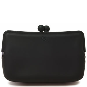 Candy Store Women's Silicone Cosmetic Bag - Black