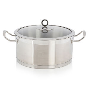 Morphy Richards Accents 24cm Casserole Dish - Stainless Steel