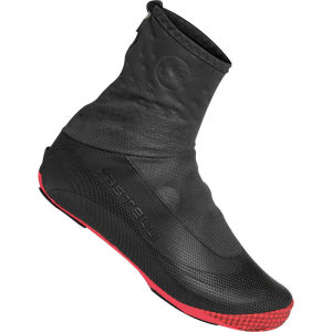 Castelli Estremo Shoe Cover - Black/Red