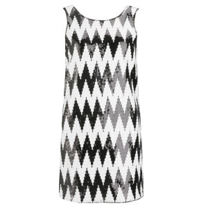 American Retro Women's Gege Dress - Black/White