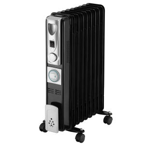 Pifco 2000W Tall Oil Filled Radiator with Timer
