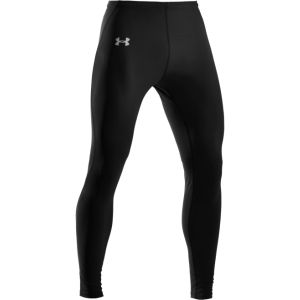 Under Armour Men's Heatgear Sonic Compression Leggings - Black/White