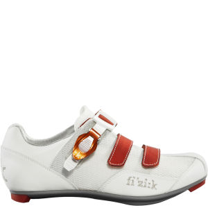 Fizik R5 Road Shoe - White/Orange