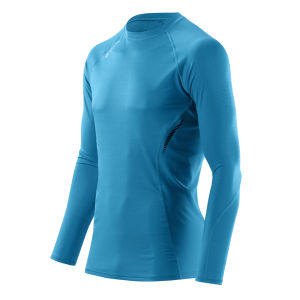 Skins Men's 360 Long Sleeve Tech Process Top - Blue