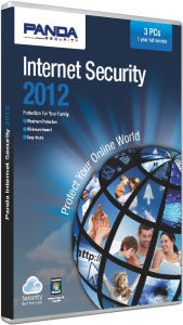 Panda Internet Security 3 User 1 Year 2012 DVD