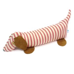 Catherine Tough Lavender Doorstop - Pink Stripe