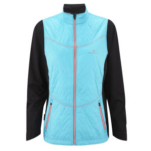 RonHill Women's Trail Vertex Running Jacket - Hawaii/Fire