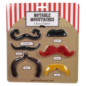 Notable Moustaches Classic Edition