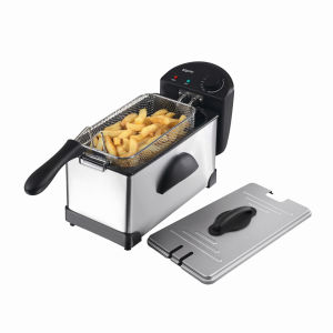 Elgento: 3 Litre Stainless Steel Fryer