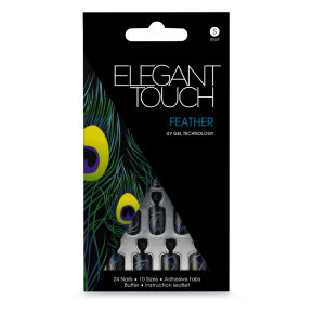 Elegant Touch Design Nails - Feather