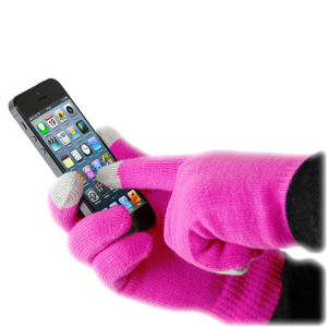 Smart Glove Touch Glove for Smartphone - Pink