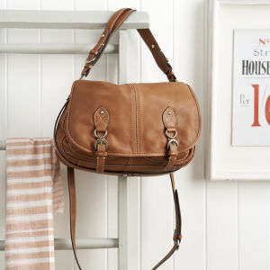 Oushka Jasper Bag - Tan