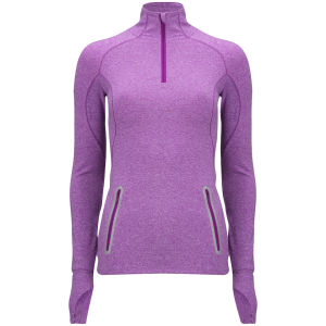 Under Armour Women's Storm Melange 1/4 Zip Jacket - Strobe/Reflective