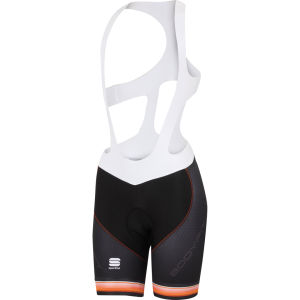 Sportful Bodyfit Pro Bib Shorts - Black/Orange