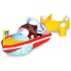 Zhu Zhu Pet Hamster Speed Boat And Dock