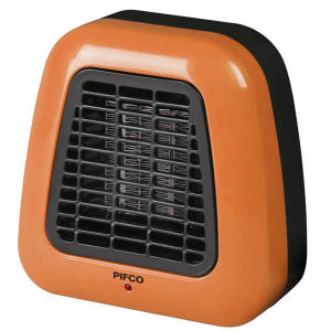 Pifco 500W Orange Portable Fan Heater