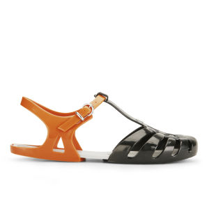 Melissa Women's Aranha Hits 11 Jelly Sandals - Black Contrast