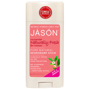 JASON Naturally Unscented Deodorant Stick for Women 71g