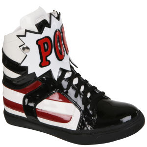 Jeffrey Campbell Women's Wordz High Top Trainers - Black/White
