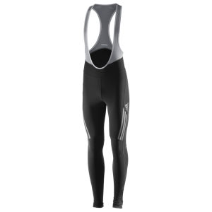 adidas Supernova Bib Tights - Black/Tech Grey