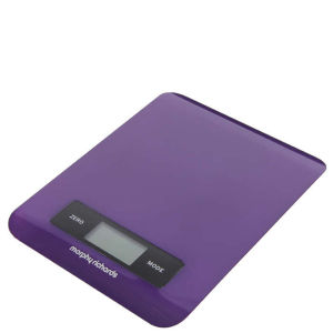 Morphy Richards 46183 Electronic Kitchen Scales - Plum