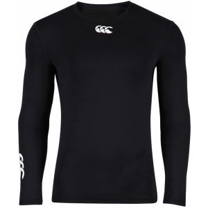 Canterbury Men's Baselayer Cold Long Sleeve Top - Black
