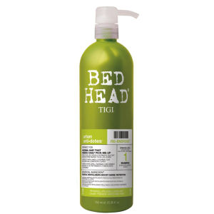 Tigi Bed Head Re-Energize Shampoo Level 1 Urban Antidotes - 750ml