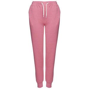 Brave Soul Women's Cuffed Sweatpant Joggers - Powder Pink