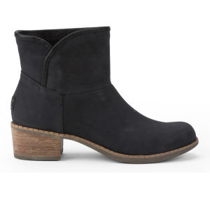 UGG Australia Women's Darling Leather Heeled Ankle Boots - Black