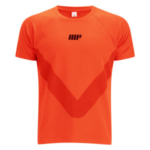 T-Shirt de course pour Homme Myprotein - Orange
